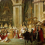 Jaques-Louis David – The Coronation of the Napoleon and Josephine in Notre-Dame Cathedral on December 2, 1804, Part 1 Louvre