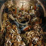 Jacob Jordaens the Elder -- Last Judgment, Part 1 Louvre