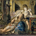 Gustave Moreau -- Samson and Delilah, Part 1 Louvre