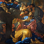 Nicolas Poussin -- Appearance of the Virgin to Saint James the Greater, Part 1 Louvre