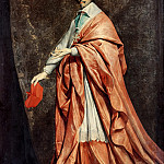 Part 1 Louvre - Phillippe de Champaigne -- Portrait of Cardinal Richelieu