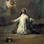 Part 1 Louvre - Goya y Lucientes, Francisco Jose de -- Christ in Gethsemane. Canvas