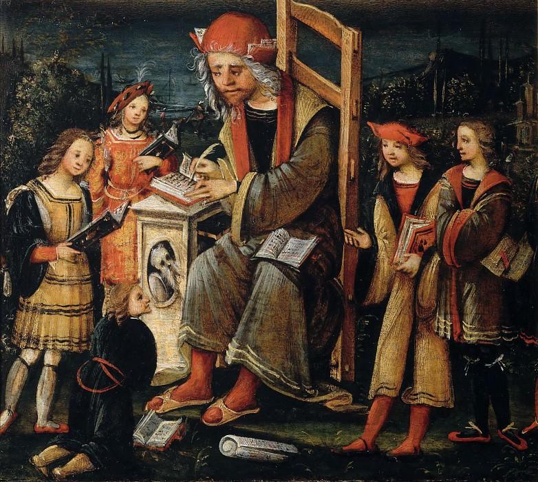 Saint Cassianus. Amico Aspertini