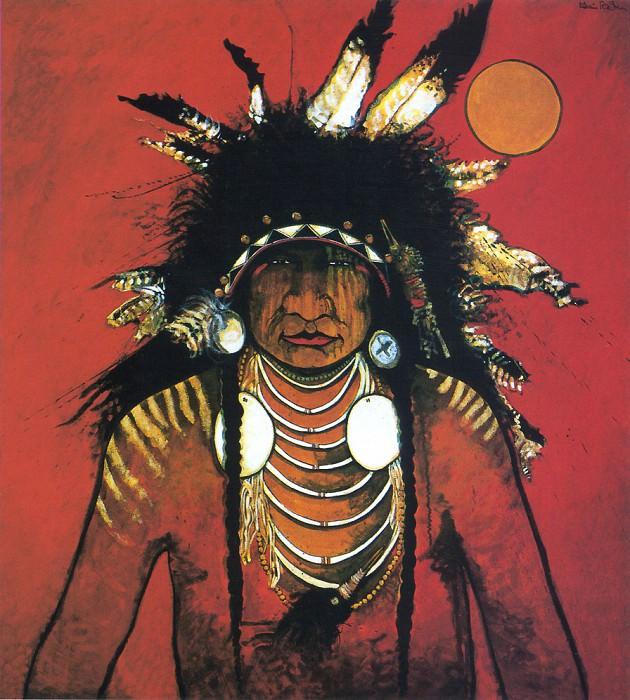 Red Star Kevin Big Thunder. Native American