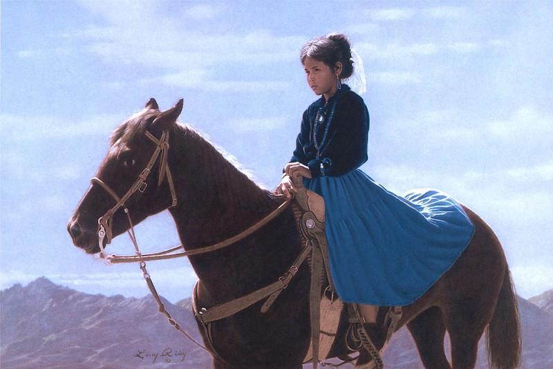 Riley Larry Navajo Sheepherder. Native American