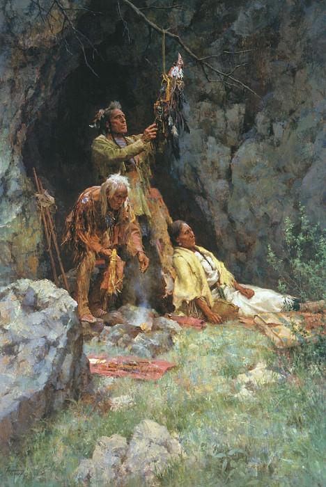 Terpning Howard The Healing Power of the Raven Bundle. Native American