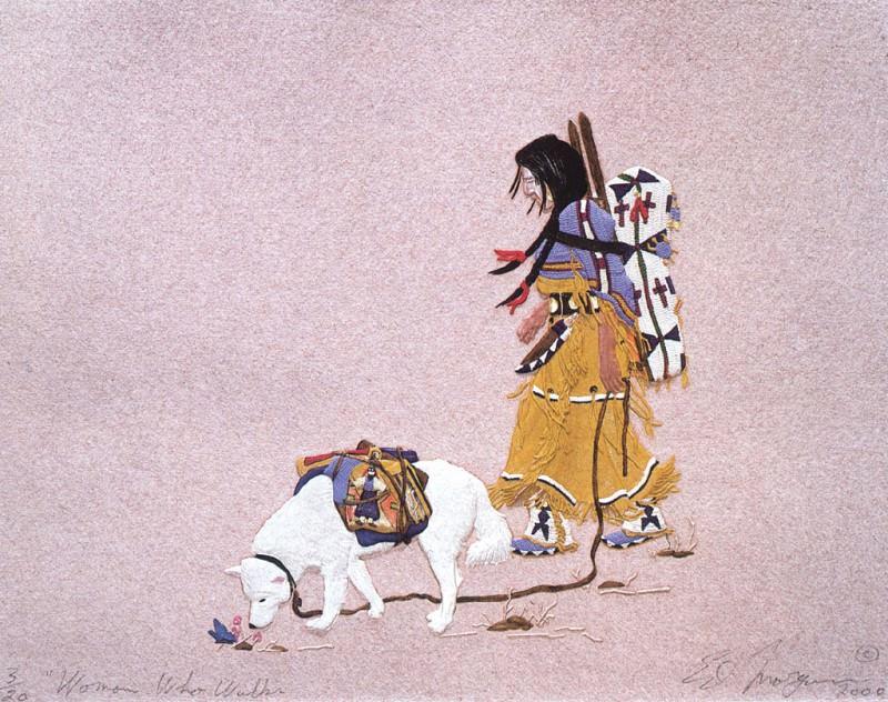 Morgan Ed Woman Who Walks. Native American