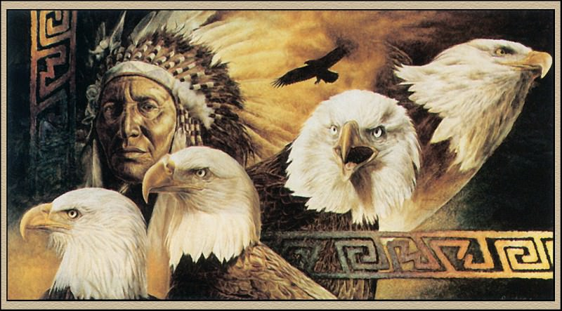 Behrens David Lokota Twilight. Native American