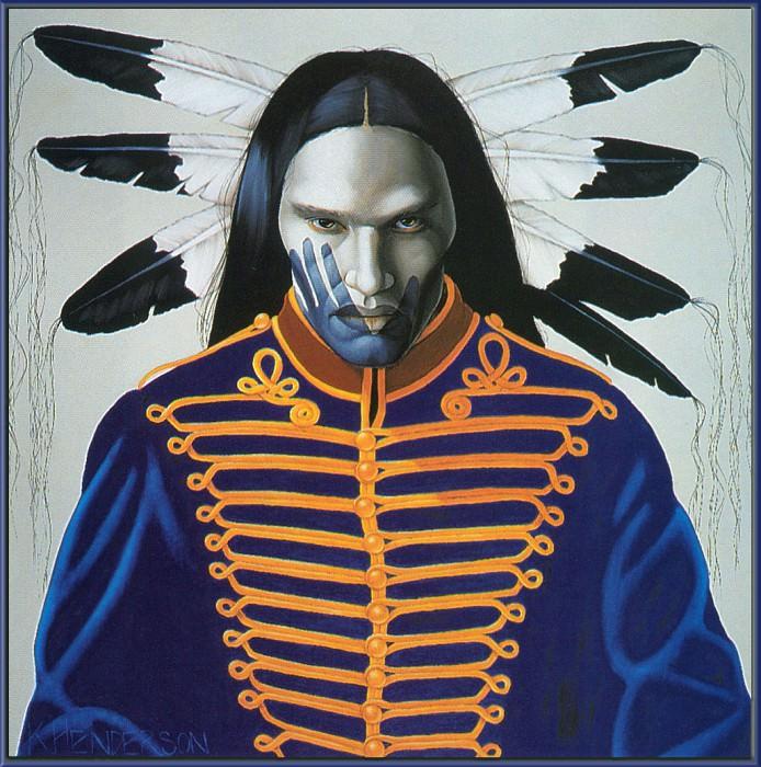 Henderson K Hearts of Fire. Native American