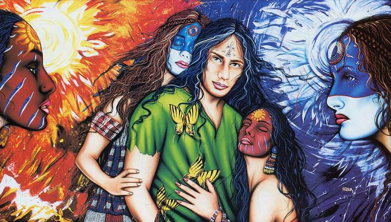 Peter Henri Torn. Native American