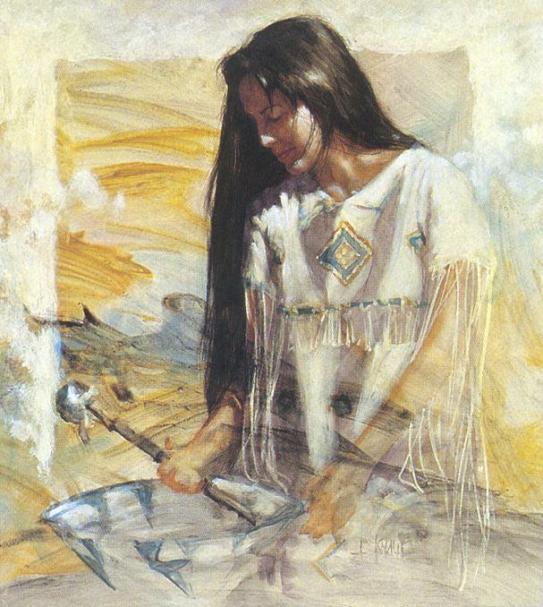 Knauf JE At Home. Native American