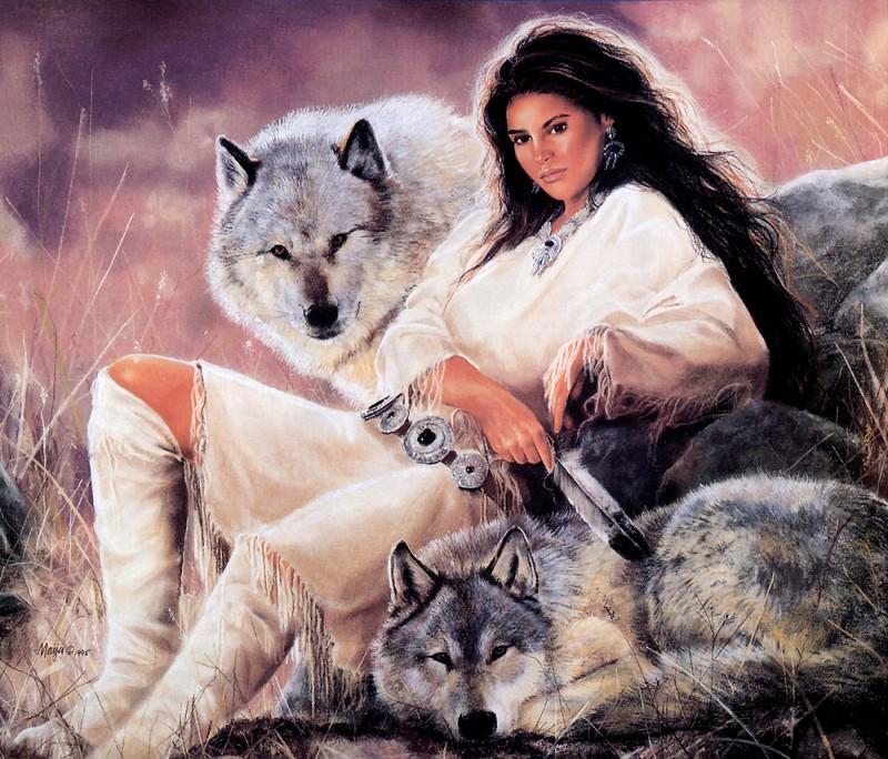 Maija-Close Encounters. Native American