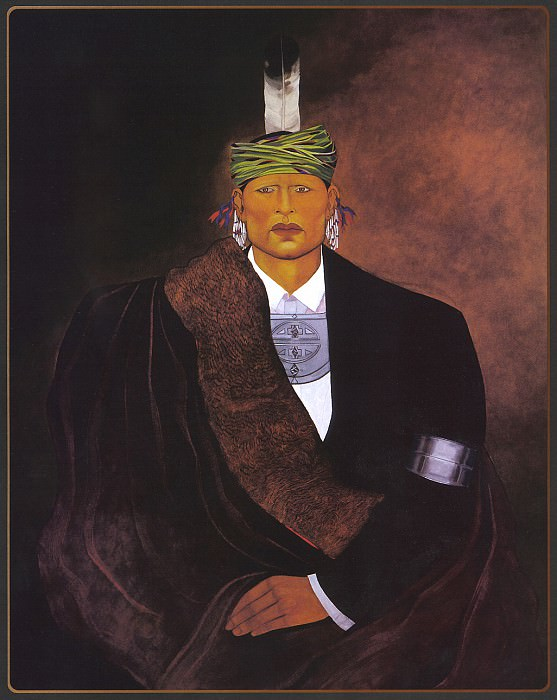Wells CJ Not Afraid. Native American