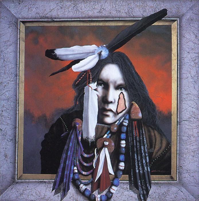 Challenger JD Spirit People. Native American