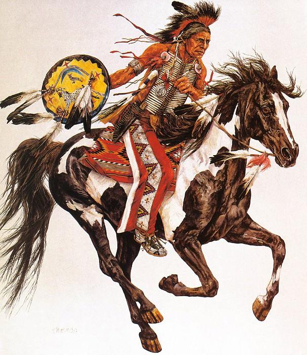 Ethelinda Montana 1880. Native American