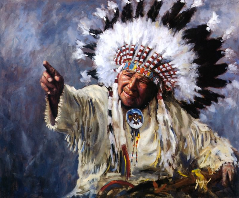 Yaeger John-Showing the Way. Native American