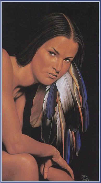 Sodd Teri Cherokee Fires. Native American