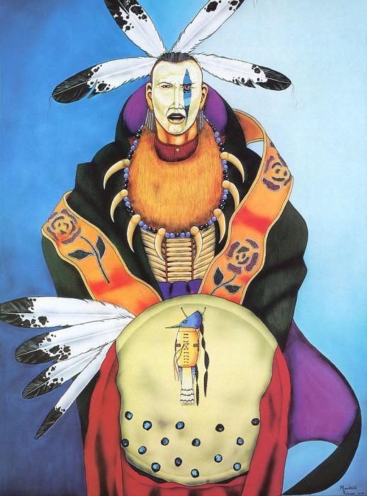 Kiowa Mountain-Song of the King Fisher. Native American