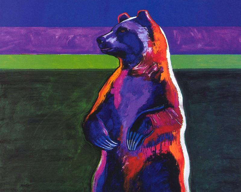Джон Ньето Стоящий медведь. Коренные американцы