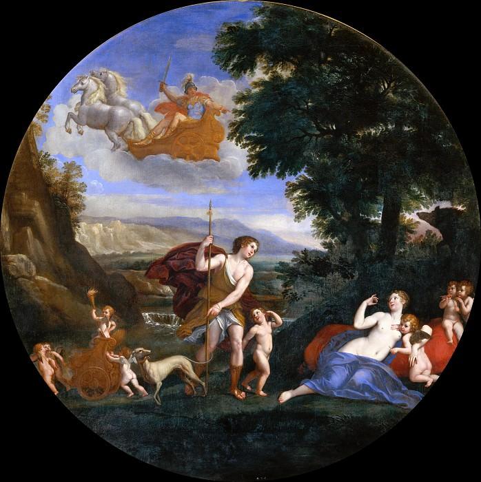 Autumn - Venus and Adonis. Francesco Albani