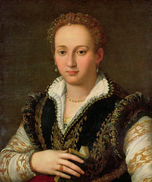 Portrait of Bianca Cappello. Alessandro Allori