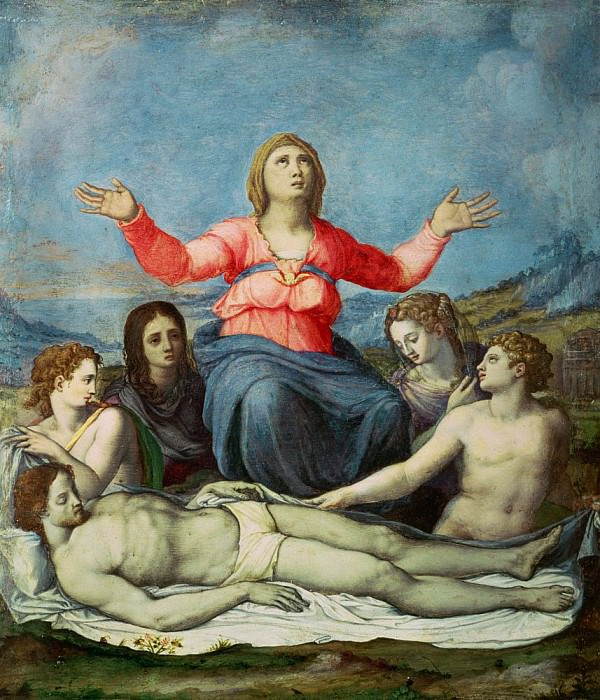 Lamentation over the Dead Christ. Alessandro Allori
