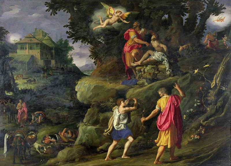 Sacrifice of Isaac. Alessandro Allori