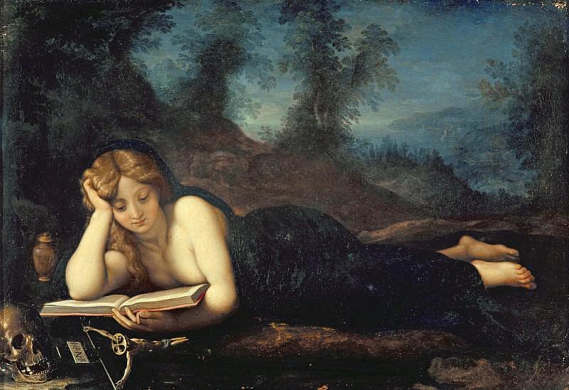 Mary Magdalene in the Desert. Alessandro Allori