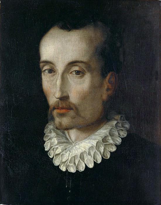 Portrait of Torquato Tasso. Alessandro Allori