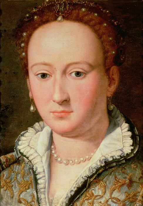 Portrait of Bianca Cappello. Alessandro Allori