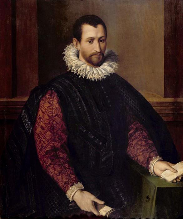 Portrait of a Gentleman. Alessandro Allori
