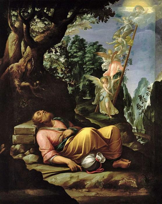 The Dream of Jacob. Alessandro Allori
