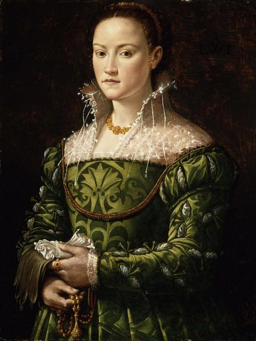 Portrait of a Lady. Alessandro Allori