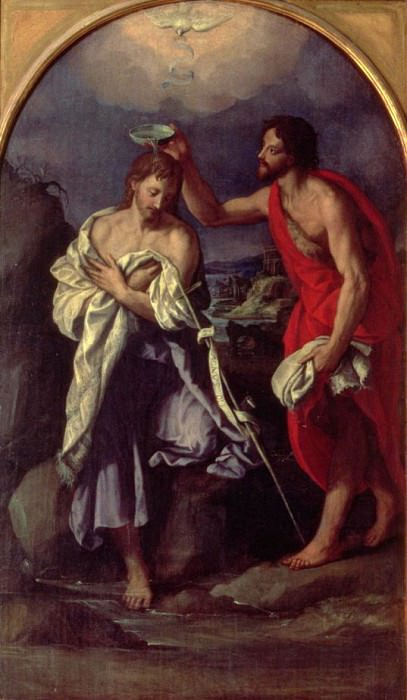 The Baptism of Christ. Alessandro Allori