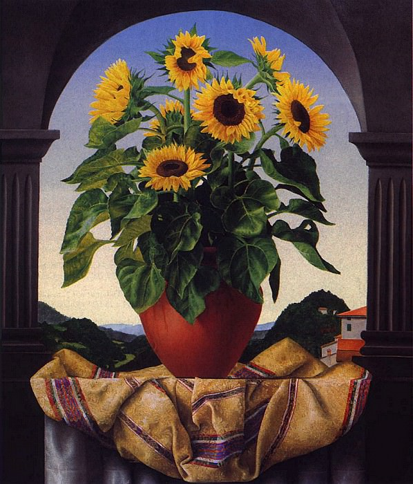 Sunflowers. James Aponovich