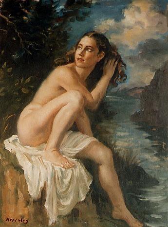 desnudo. Jorge Apperley