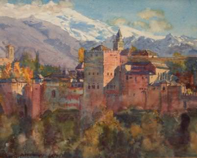 Viewof the Alhambra. Jorge Apperley