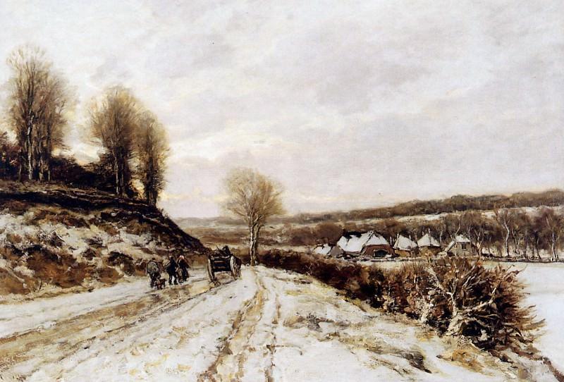 Winterlandscape. Lodewijk Apol