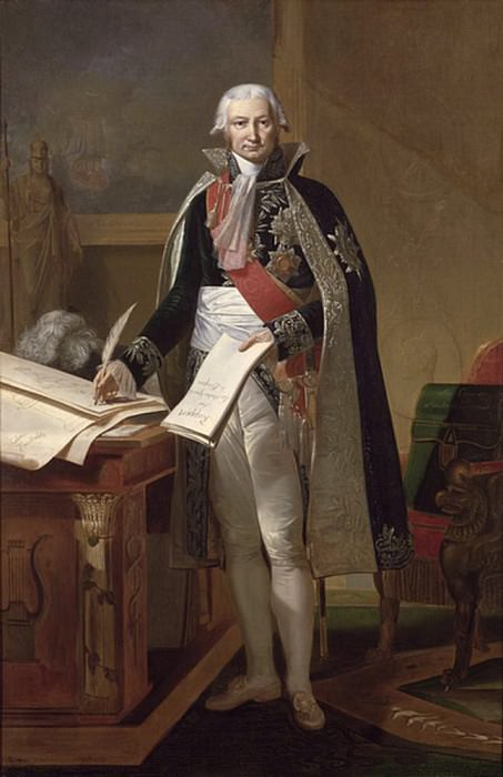 Жан-Батист де Номпер де Шампани (1756-1834) Герцог Кадоре. Антуан Ансьё