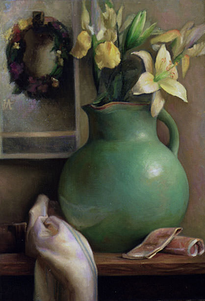 Lilies and LaFarge. Juliette Aristides