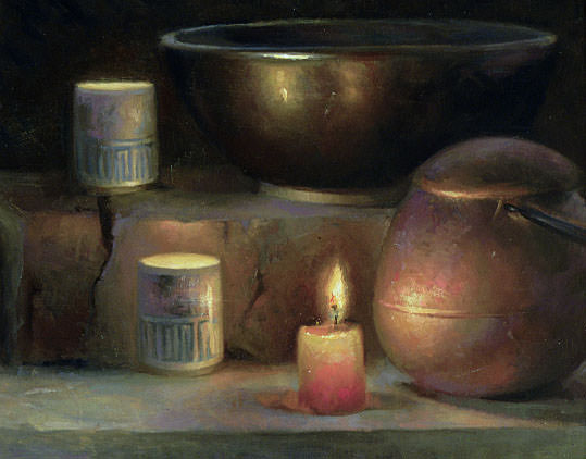 Candles. Juliette Aristides
