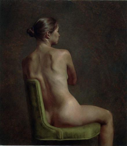 Seated Nude. Juliette Aristides