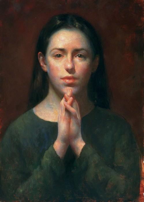 Self Portrait in Thought. Juliette Aristides
