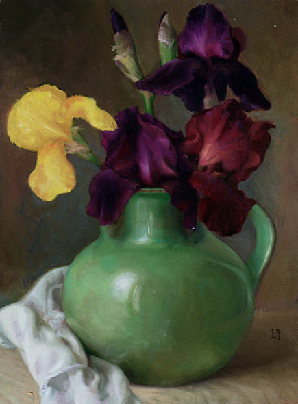 Irises. Juliette Aristides
