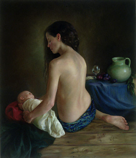 Mother and Child. Juliette Aristides