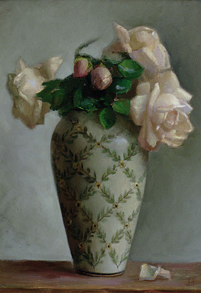 Antique Vase. Juliette Aristides