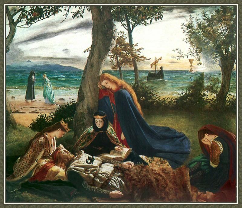La Morte DArthur. James Archer
