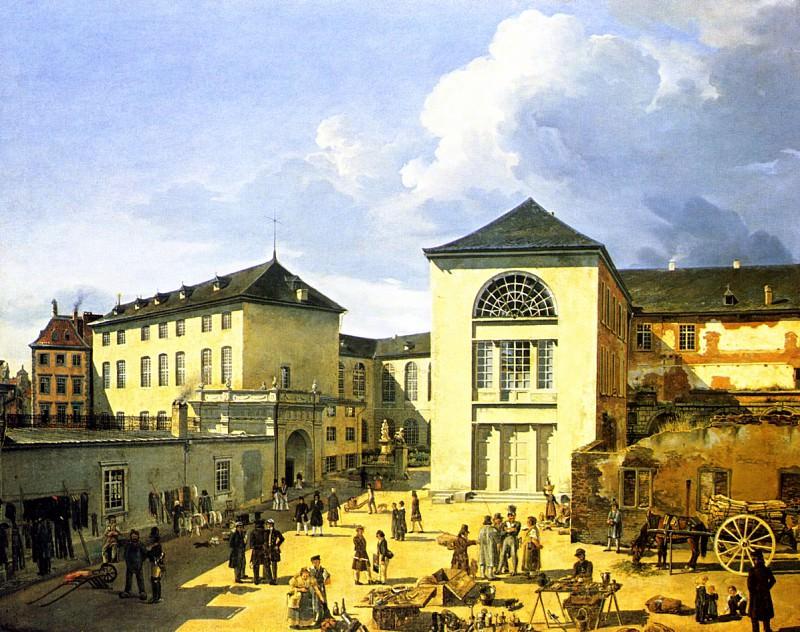 Старая Академия в Дюссельдорфе. Андреас Ахенбах