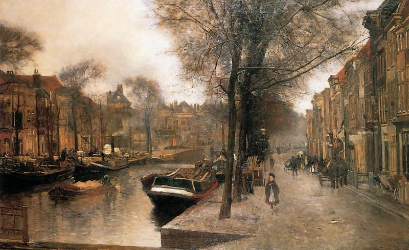 Bierkade In Den Haag. Floris Arntzenius