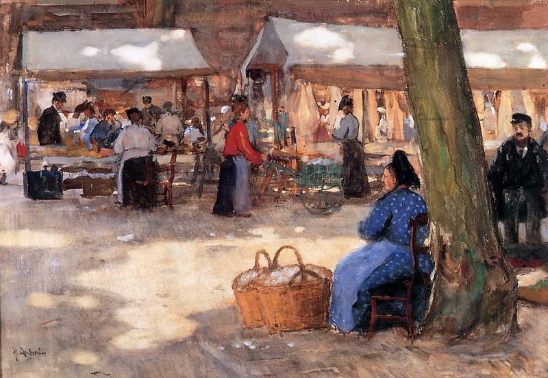 Fabric Market. Floris Arntzenius